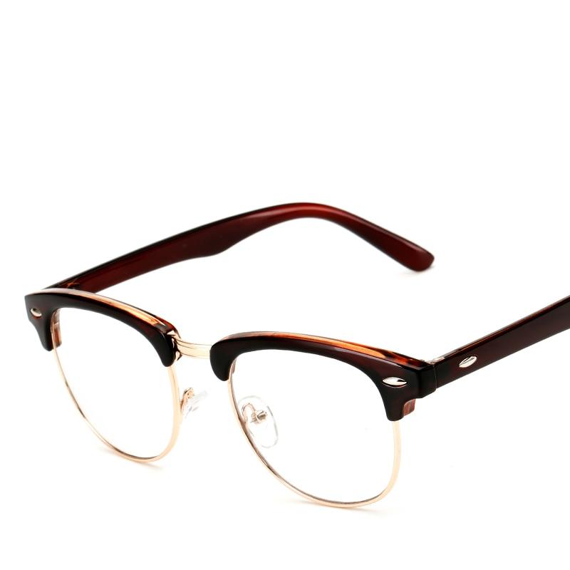 LONSY Vintage Optik Eynək Çərçivəli Moda Yarım Eynək - Geyim aksesuarları - Fotoqrafiya 5