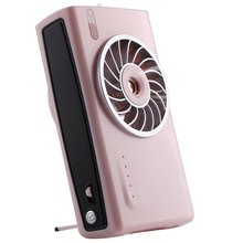 Battery Operated Cooling Fan Personal Camera Handheld Mist Spray Fan Humidifier Electric Portable Usb Rechargeable Fans Outdoo