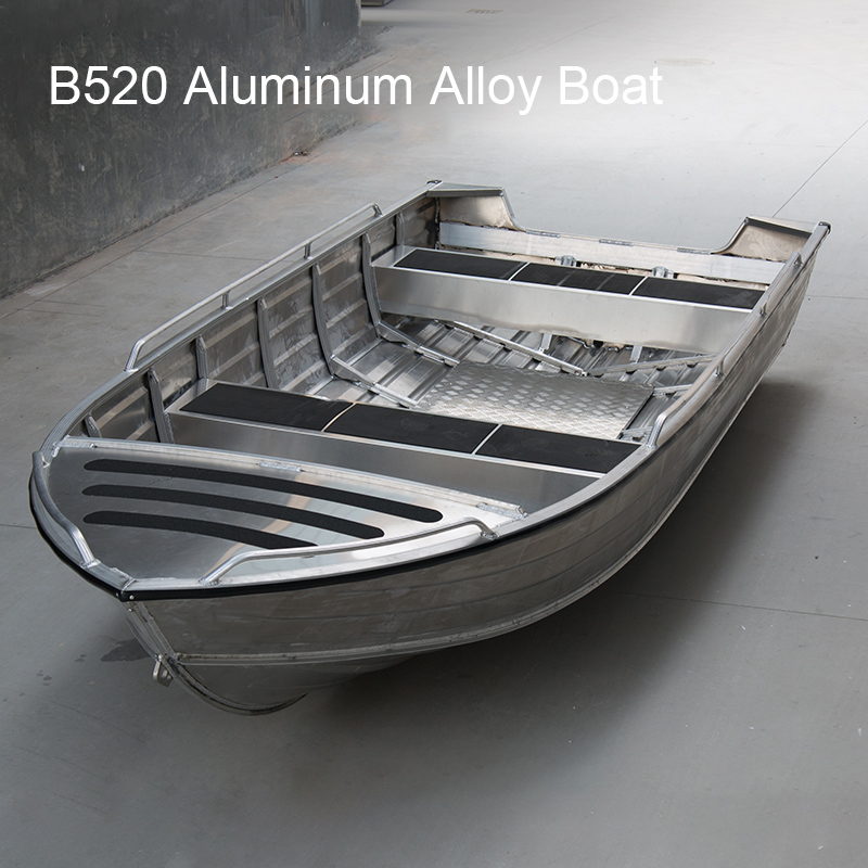 B-style Aluminum Alloy Boat Fishing Boat Speed Boat Ship Vessel Assault Boat Fashionable Boat Water Sports Entertainment