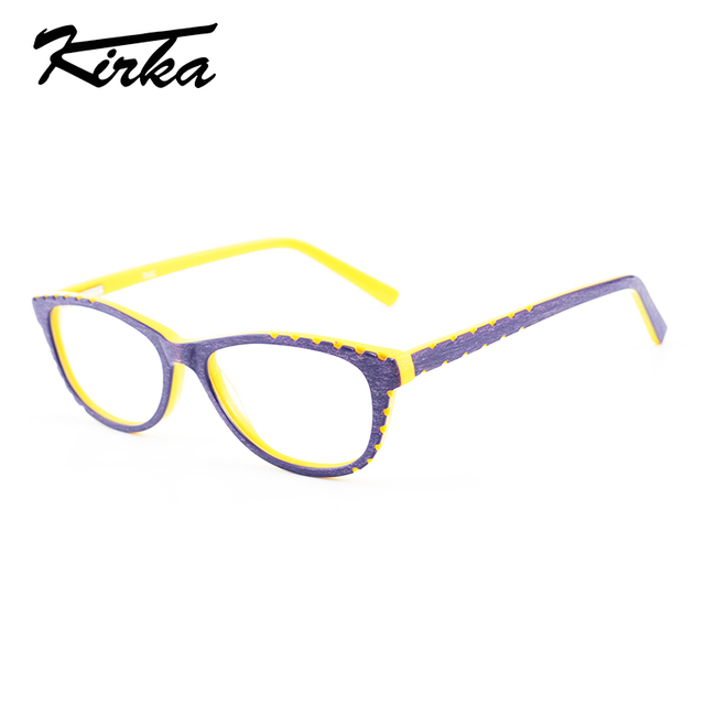05c3bad794c Kirka Kids New Design Type Acetate Bright Yellow Color Eyewear Glasses Frame  in High Quality for Children