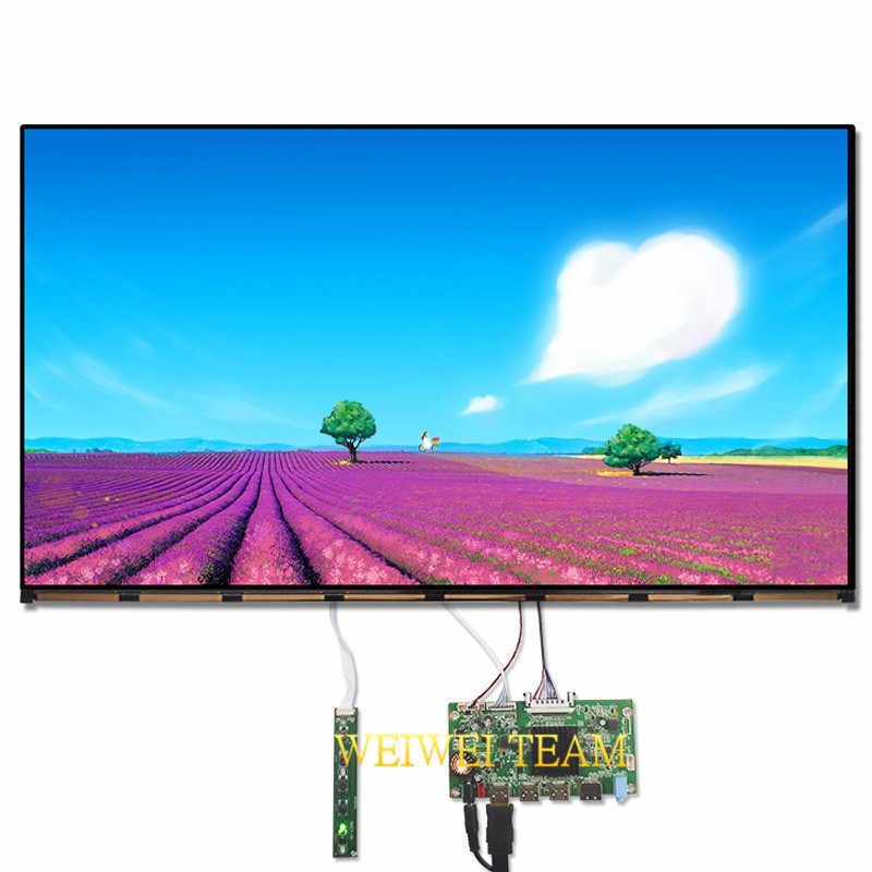 Wisecoco 27 Inch 4 K Lcd Monitor Ips Display Ultra Hd 3840X2160 Edp 30 Pins 3 Hdmi Dp Driver Board voor Pc Desktop Led Monitor