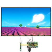 Wisecoco Ultra HD 3840X2160 27 inch 4k LCD Monitor IPS Display eDP 30 pins 3 HDMI DP Driver Board For PC Desktop LED Monitor