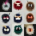 Free shipping Fashion cute plush grimace little monster fox fur bag bugs small pendant accessories Lafayette Karlito NO BOX LOGO