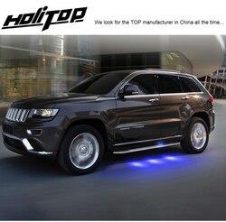 """Zaawansowana technologicznie platforma do wchodzenia listwa boczna nerf do Jeep Grand Cherokee 2011 2020  """"luksusowy"""" design  pochodzą z """"LED light"""" Podłokietniki    -"""