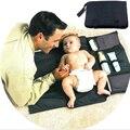 Cambiador portátil de Viaje Bebé Impermeable Cambiar Pañales Cambiantes almohadillas Estera de Almacenamiento A Prueba de agua 100% Superior Buena