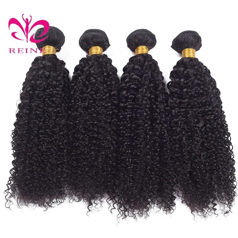 kinky Weave Human Hair Bundles Brazilian human Hair Bundles Brazilian Hair Weave Bundles REINE Human Hair Extensions none remy