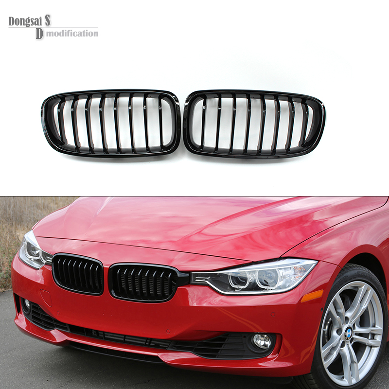Aliexpress Com Buy F30 Abs Front Bumper Grills F31 Grille For Bmw 3 Series 320i 325i 328i 335i