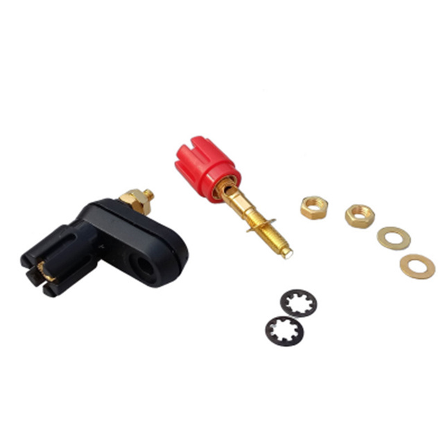 10pcs/lot Twin Banana Plug Binding Post Dual Female Banana Jack Socket Terminal Connector for Loudspeaker Amplifier