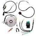 Universal Moto Dirt Pit Bike Magneto CDI Para A Vela de Ignição Interruptor Cablagem Kit 50-125cc
