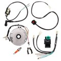 Universal Motorcycle Dirt Pit Bike CDI For Spark Plug Switch Magneto Wire Harness Kit 50-125cc
