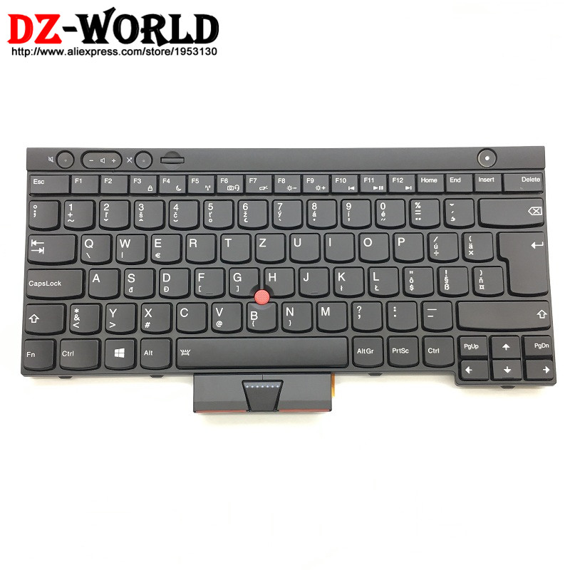 New Original for Thinkpad T430 T430i T430S T530 T530i W530 Backlit Slovak Keyboard Backlight Teclado Slovakia 04X1264 0C01947 male suspenders 2016 new casual denim overalls blue ripped jeans pockets men s bib jeans boyfriend jeans jumpsuits