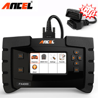 Ancel FX4000 OBD2 All System Diagnostic Tool Check Airbag ABS SRS EPB Transmission Oil Reset Car