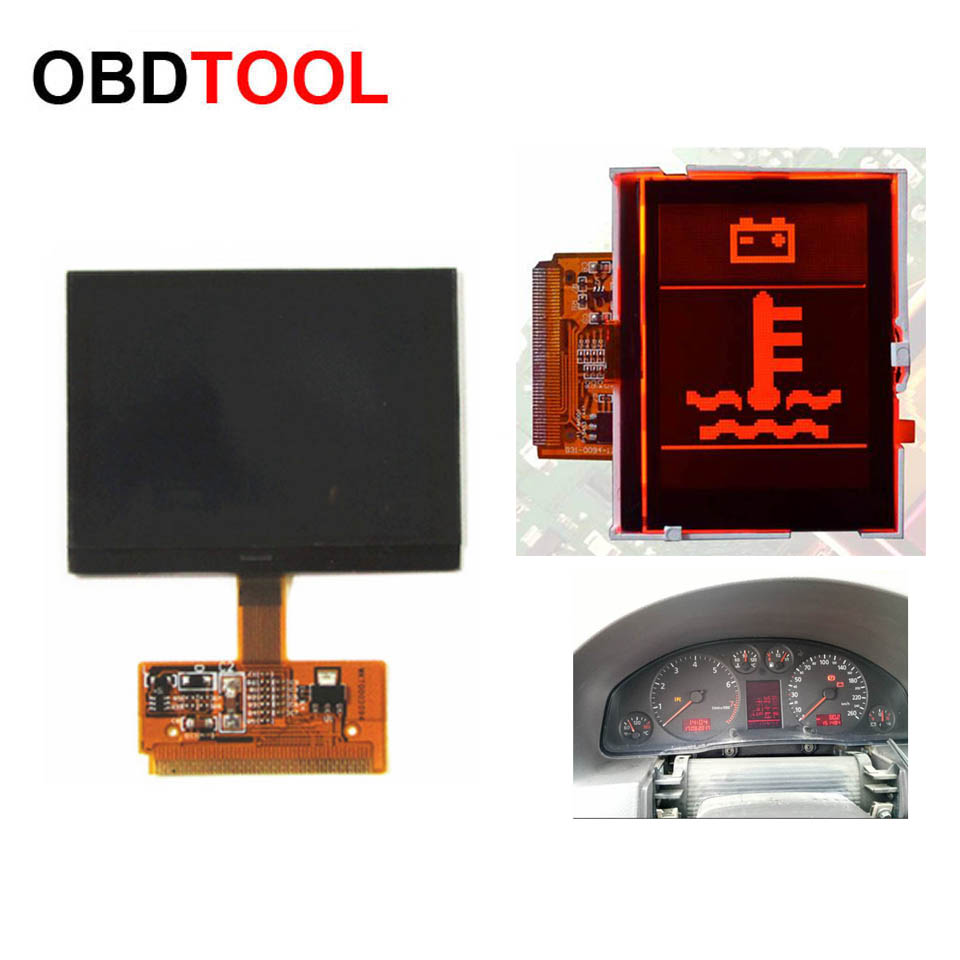 New VDO LCD CLUSTER Display Screen For Audi A3 A4 A6 For VAG LCD Dashboard Pixel Repair Screen For Passat VDO, For Seat VDO
