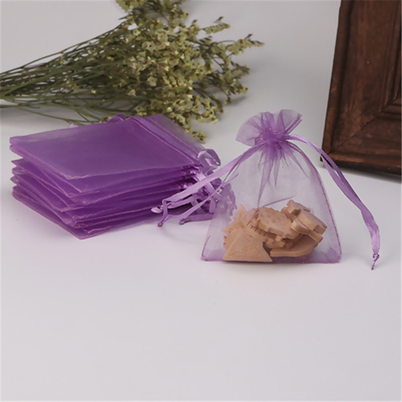 25pcs Organza Gift Bags Wedding Candy Party Pouches Jewelry 26 Colors/&7 Sizes