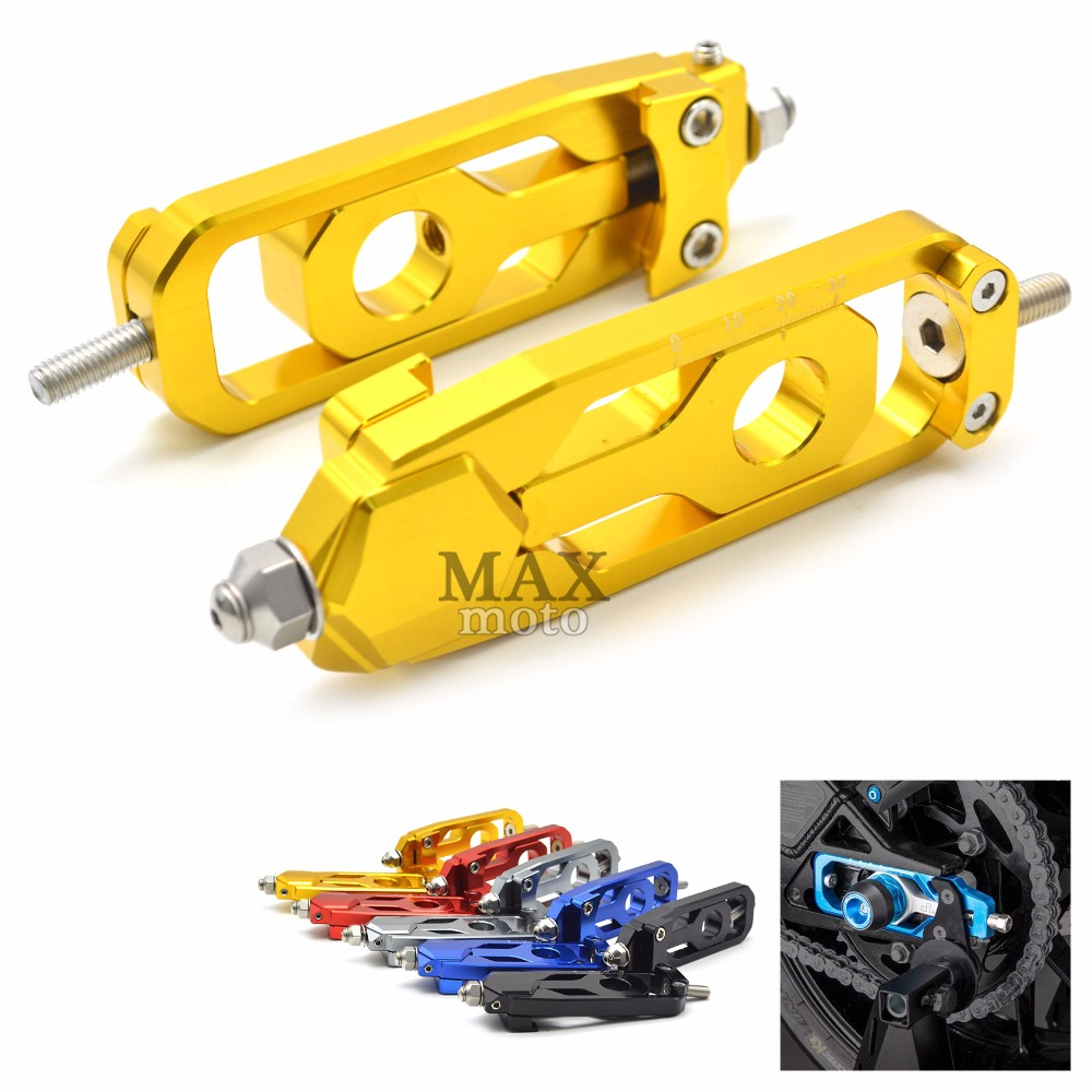 Motorcycle accessories motorbike CNC Rear Axle Spindle Chain Adjuster Tensioners Catena for yamaha MT-09 tracer FZ-09 FJ-09 mt09