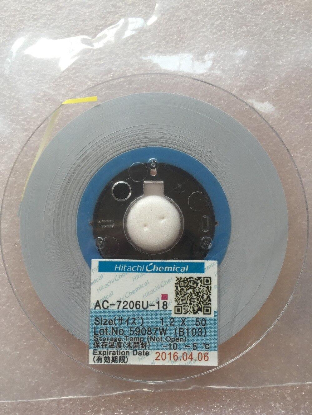 Originální AC-7206u-18 W1,2mm L50m 1,2MM * 50M ACF lepidlo na - Osvětlovací příslušenství