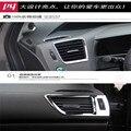 Бесплатная доставка abs автомобилей автомобиль вентиляционные планки для honda civic 2012 2013 2014 2015 6 шт. один набор