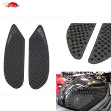For 2008-2010 Suzuki GSXR GSX-R 600 750 Rubber Motorcycle Tank Pad Protector Sticker Decal Gas Knee Grip Traction Side