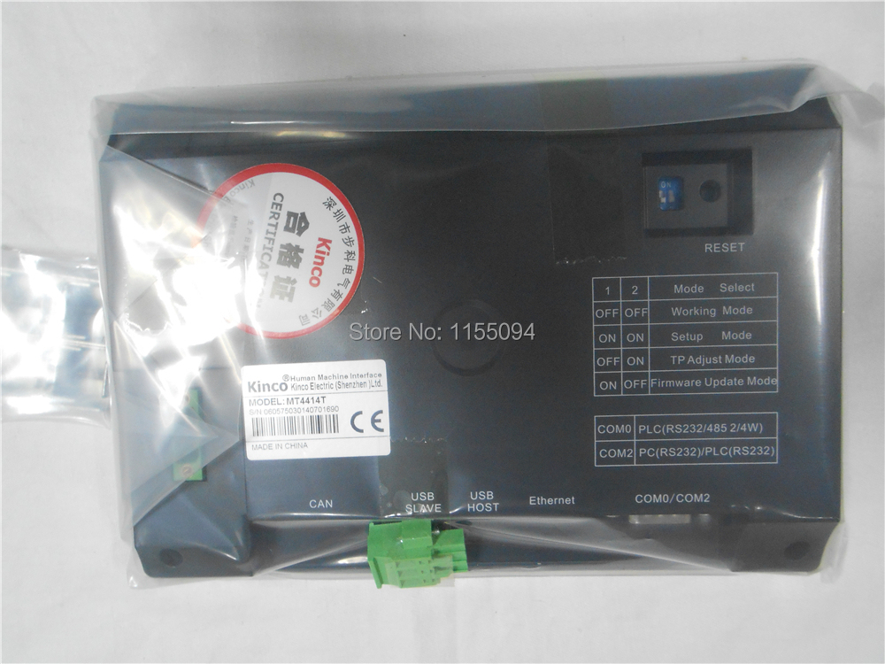 MT4414T KINCO HMI Touch Screen 7 inch 800*480 1 USB Host new in box mt4414t 7 china hmi kinco 7 inch touch screen hmi cheap plc hmi touch panel 800 480 16 9 hmi panel with ce