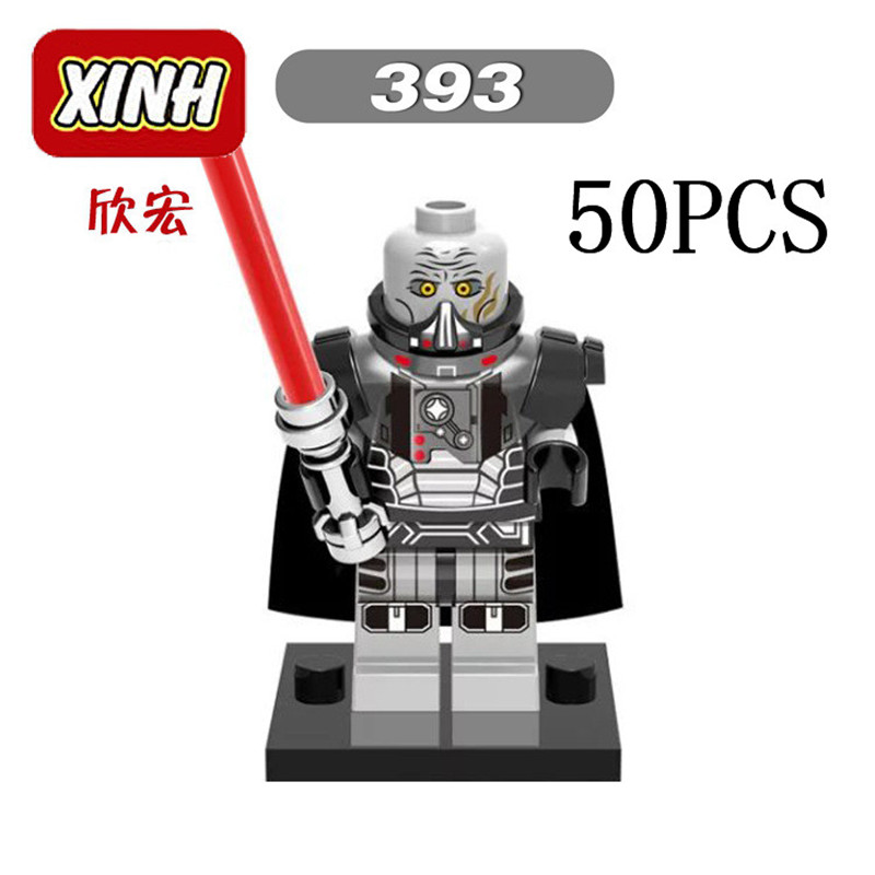 Gifts Star Wars Pogo XINH Wholesales XH393 Darth Margus 50PCS Building Blocks Bricks Toys Action Figures compatible legoe