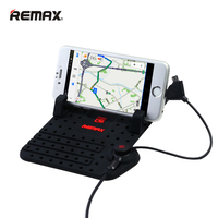 Remax Auto Regolabile Staffa del Connettore Magnetico Supporto del telefono dell'automobile Monti Con Cavo di Ricarica USB Per iPhone 6/7 telefoni Android