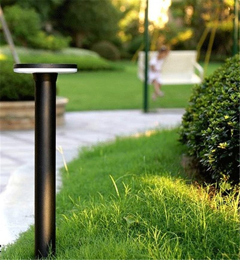 prova d agua luz moderno parque comunidade pos lampada levou luz bollard 04
