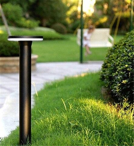 prova d agua luz moderno parque comunidade pos lampada levou luz bollard