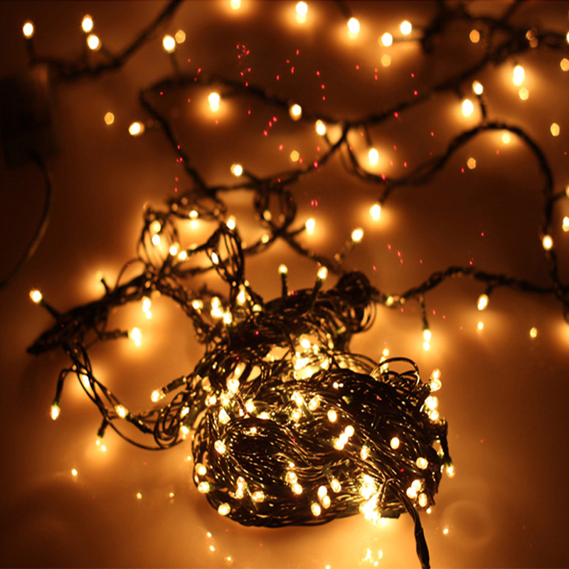 Led Outdoor Christmas Lights Reviews: 100 Incandescent String Fairy Lights for Xmas Party Wedding Unique Warm  white #74354,Lighting