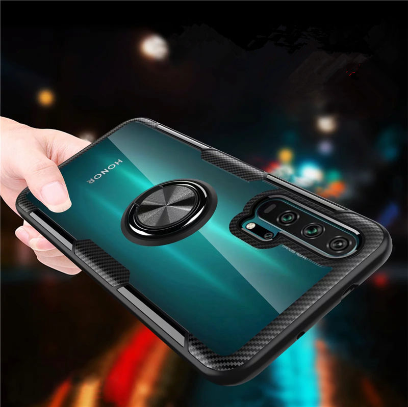 For Huawei <font><b>Honor</b></font> 20 Pro Honor20 10 Lite 10i <font><b>20i</b></font> <font><b>Case</b></font> Magnetic Ring Stand Cover for <font><b>Honor</b></font> 7X 8X Max 8S Y5 2019 P Smart Plus 2019 image