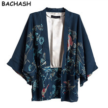 BACHASH New women's coat  suit  jackets suit Casual and Work Wear One Button Blazer Tunic suit for women plus size print fashion