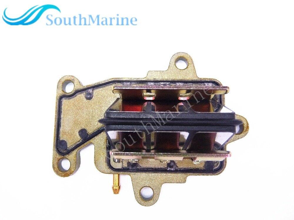 Motore fuoribordo T15-04050000 T9.9-04050000 di Aspirazione Reed Valve Assy per Parsun HDX Makara 2-stroke T9.9 T15 BM
