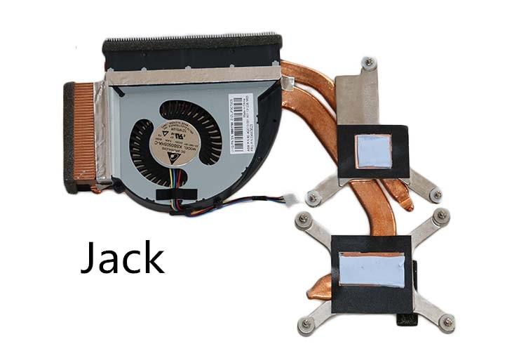 ФОТО The new Thinkpad laptop Radiator cooling fan CPU independent T530 FRU 04W3623 Cooler Radiator Heatsink