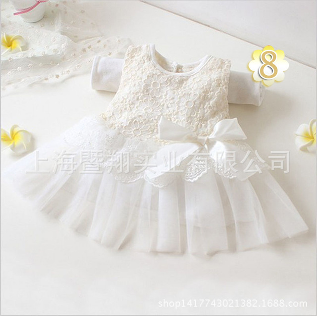 2016 Summer Girls Wedding Party One-Piece Dresses Princess Children Clothes For Kids Baby Clothing Girl Dress free shipping