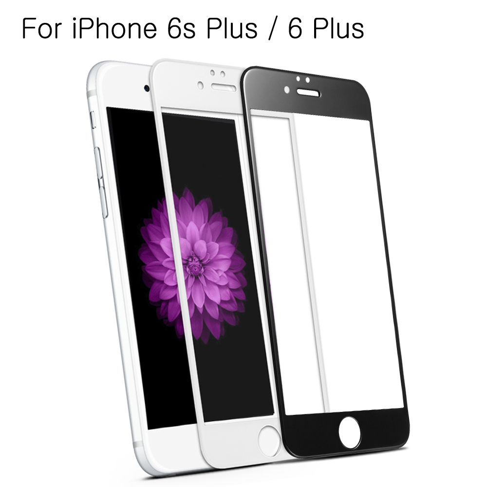<font><b>BENKS</b></font> for iPhone 6 s Plus 5.5-inch <font><b>XPRO</b></font>+ 3D <font><b>Frosted</b></font> <font><b>Curved</b></font> <font><b>Full</b></font> <font><b>Size</b></font> <font><b>Tempered</b></font> Glass Screen Protector for iPhone 6s Plus / 6 Plus