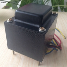 IWISTAO ламповый усилитель мощности трансформатора 85 Вт EI для 6P1 6P14 6P6 мощность HIFI аудио DIY