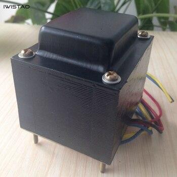 AMPLIFICADOR DE TUBO IWISTAO, transformador de potencia 85W EI para 6P1 6P14 6P6, Audio HIFI de potencia DIY