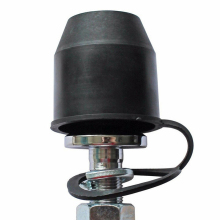 Черная защитная крышка для трейлера, автомобильный Стайлинг, фаркоп, шаровая крышка, крышка для автомобиля, буксировочное устройство