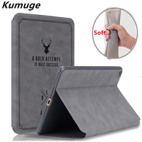 For IPad Air 2 IPad 6 Tablet Front Smart Cover Case TPU Silicone Back Case For