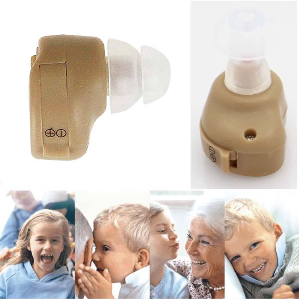Hot sales In Ear Hearing Aids Aid Assistance Adjustable Sound Amplifier Invisible Deaf Aid font b