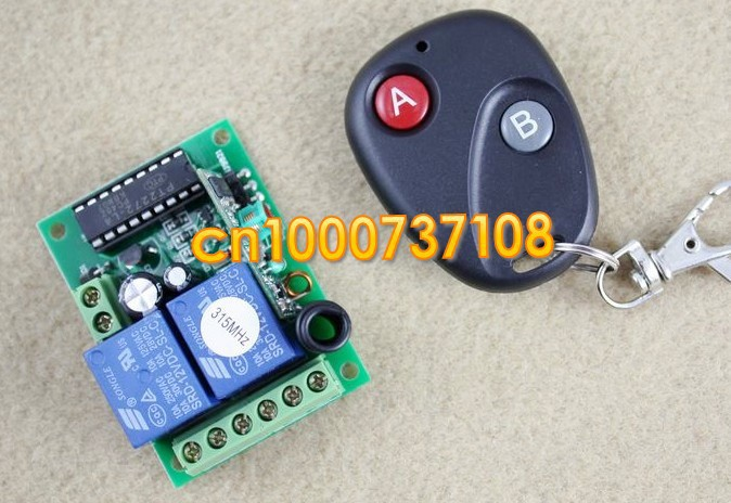 Remote Control Switch Circuit Receiver Transmitter 315mhzin Remote