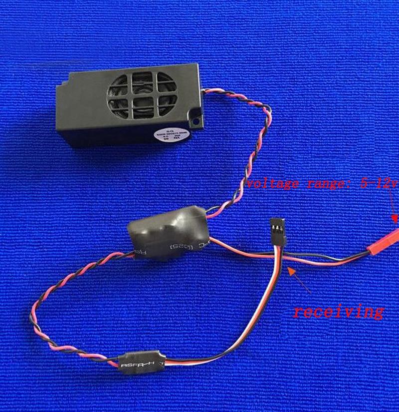 Ehrlichkeit 1 Pc Dampf Pfeife Sirene Sound Einheit Hupe Horn Controller Schalter Micro Trompete Sound Gruppe Diy Teile Für Rc Simulation Boot Elegant Im Geruch