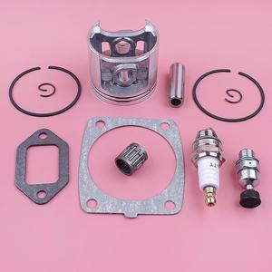 Image 4 - Kit de anel de pistão anel de 47mm, para stihl ms361 silenciador de cilindro junta válvula de descompressão rolamento motosserra de substituição peça