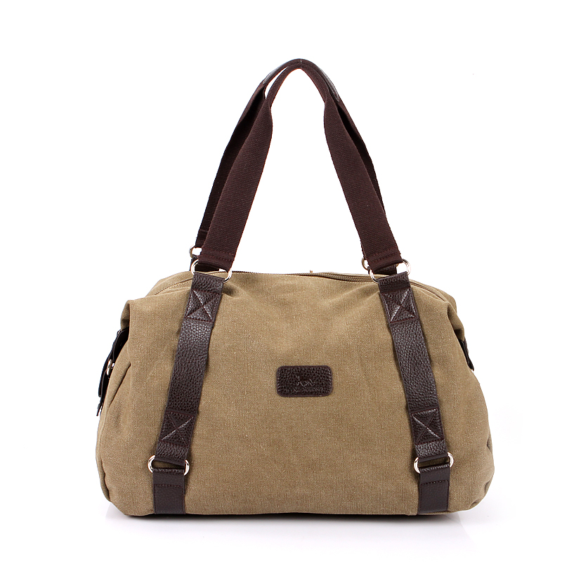 Large Capacity Casual Men Shoulder Bag Canvas Vintage Retro Crossbody Messenger Bag Men Male Leisure Tote Travel Bag Men 1064 augur new men crossbody bag male vintage canvas men s shoulder bag military style high quality messenger bag casual travelling