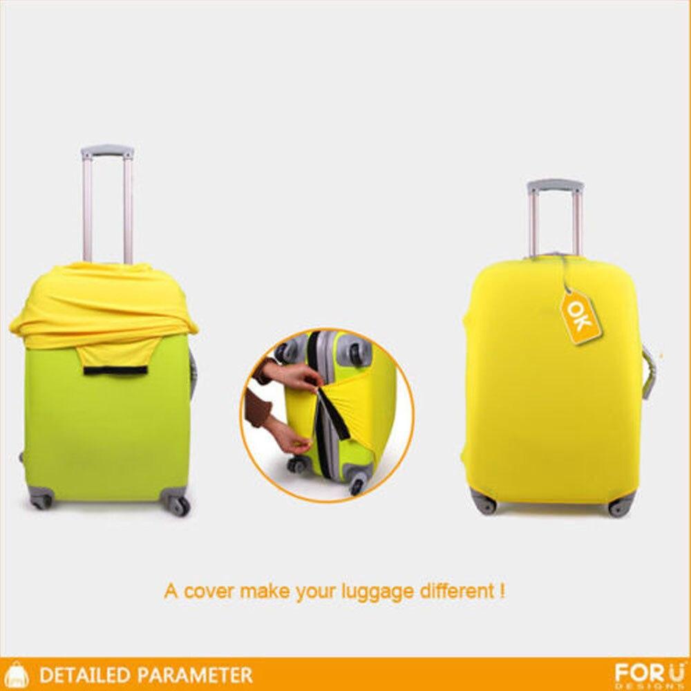 Wzór żaba Anti-Scratch Travel Bagaż Pokrywa Walizka Ochronna - Akcesoria podróżne - Zdjęcie 5