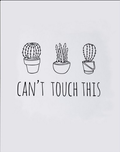 Canvas Print Art  Canu0027t Touch Print Cactus Art Print Word Wall Arts Kitchen Art Home Decor  Frame Not included-in Painting u0026 Calligraphy from Home ...  sc 1 st  AliExpress.com & Canvas Print Art  Canu0027t Touch Print Cactus Art Print Word Wall Arts ...