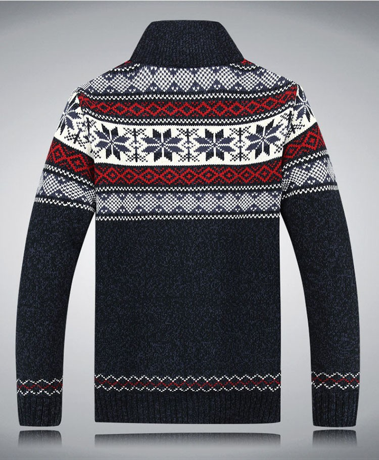Men Sweater Fashion Autumn Winter Wool Cardigan Men\'s Casual Thick Warm Sweater Male 2016 AFS JEEP Knitting Sweter Hombre M-3XL  (11)