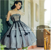 The Elegant Classic Bow Waist Sexy Backless Dress Strapless Dress A Word Color