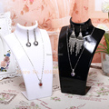 2pcs/lot Acrylic  Necklace Earring pendant Display Stand Holder Jewelry set Display Stand