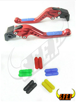 CNC Adjustable Motorcycle Brake and Clutch Levers with Anti Slip For BMW HP2 SPORT 2008 2011