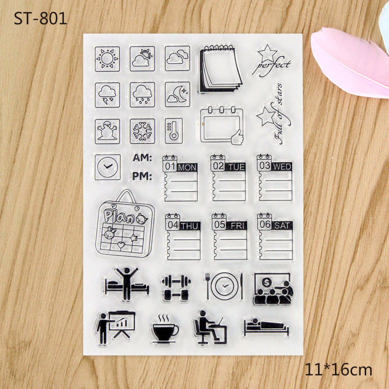 2017 new clear stamps Scrapbook DIY